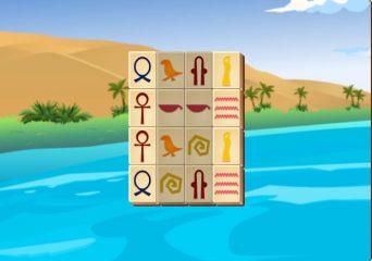 Egyiptomi mahjong játék