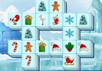 Karácsonyi tripla mahjong