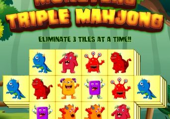 Szörnyes tripla mahjong